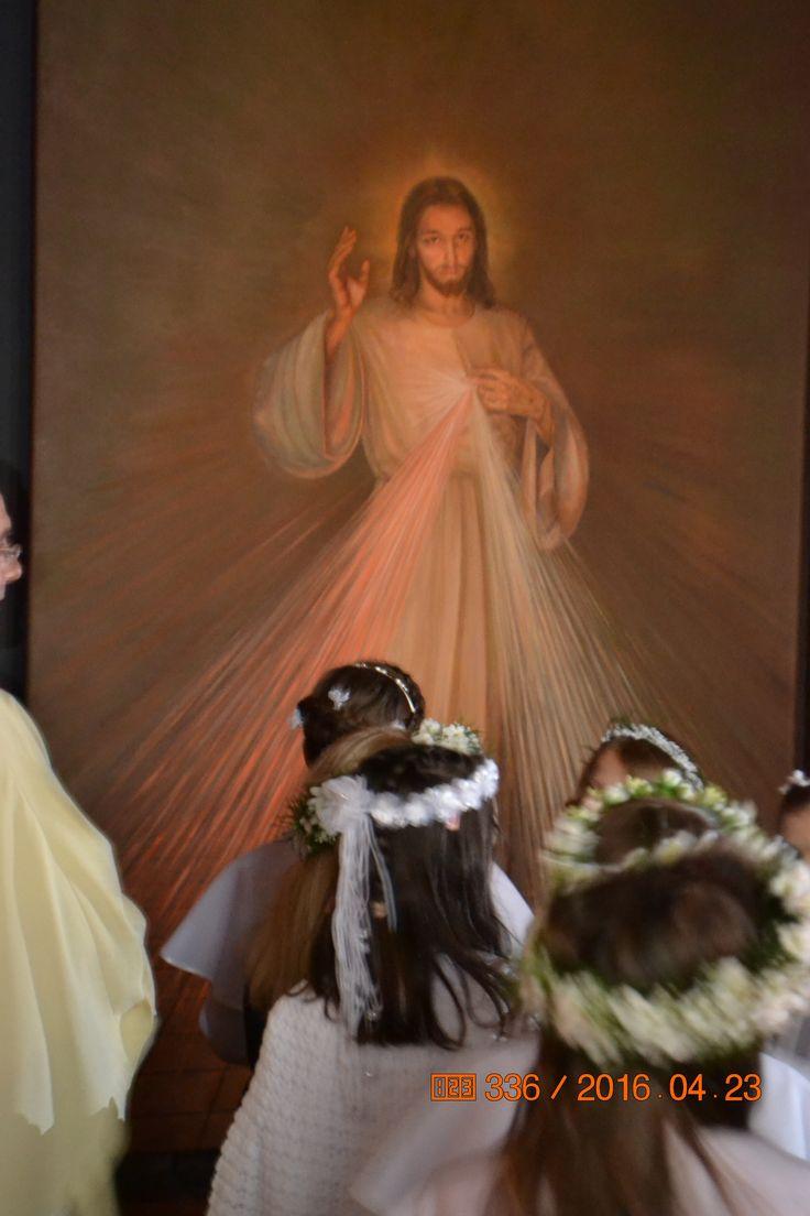 PAN I KRÓL JEZUS CHRYSTUS MIŁOSIERNY X JEZU UFAM TOBIE