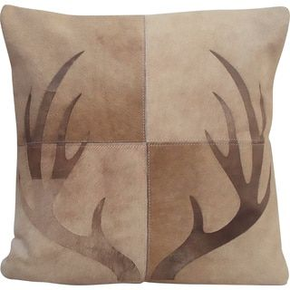 Shop for Mina Victory Dallas Deer Antlers Beige Throw Pillow (20-inch x 20-inch) by Nourison. Get free shipping at Overstock.com - Your Online Home Decor Outlet Store! Get 5% in rewards with Club O!