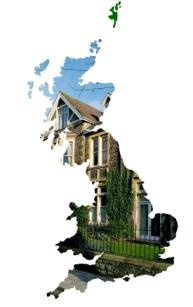 Green Deal GB house map