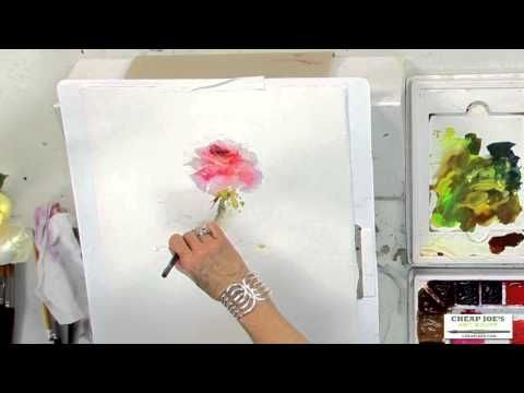 Watercolor Techniques with Janet Rogers - Painting Roses - YouTube also leaf shapes impressionist