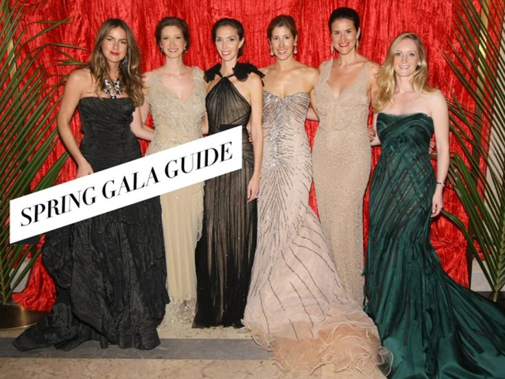 Spring Gala Guide: Top 20 Charity Benefits To See and Be Seen At This Season | StyleCaster