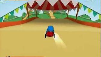 Pocoyo Racing   Nintendo Wii   Nivel 1 - YouTube
