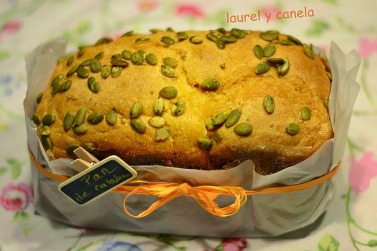 Laurel y Canela: Pan de calabaza en panificadora Lidl
