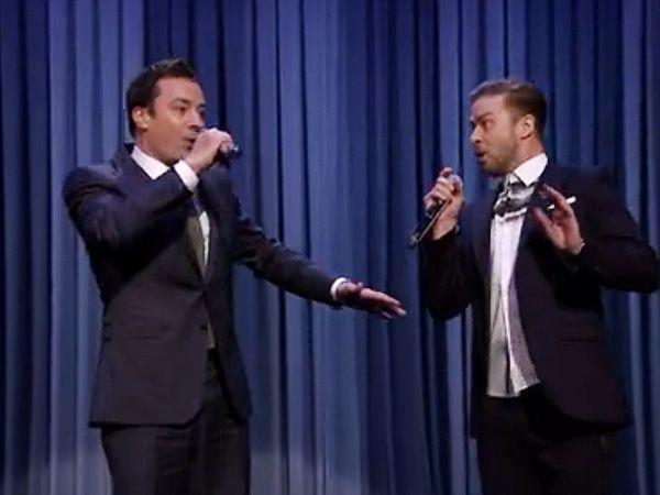 Justin Timberlake & Jimmy Fallon Unleash Latest 'History of Rap' on the Tonight Show