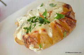 Cartofi copti cu smantana la cuptor Savori Urbane (1)