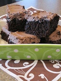 Zuchini Brownies, I think this recipe is better. No evaporated milk!