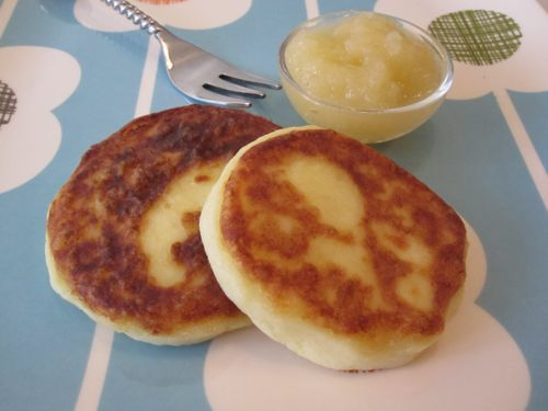 Mashed potato pancakes - could easily substitute small amount of flour for gf flour to make gf.