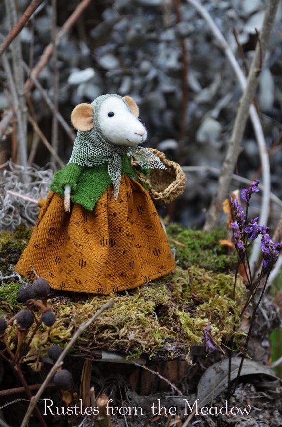 Recopilador pequeño ratón-la colección de por rustlesfromthemeadow
