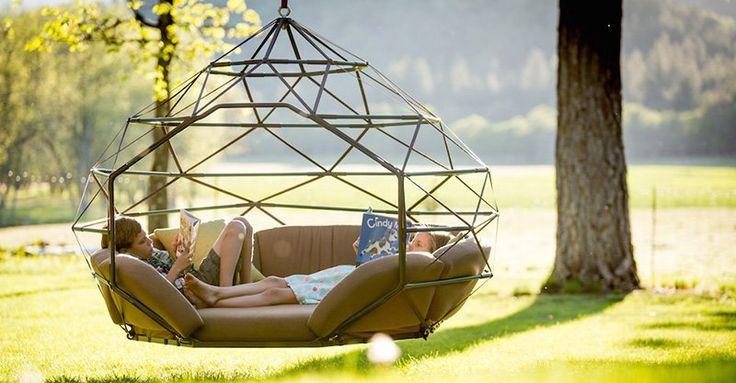 Hammocks are so last year, introducing Kodama Zomes! #Chairs, #Design, #Outdoor