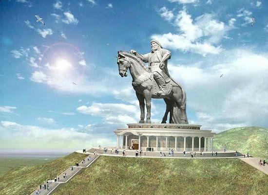 Chinggis Khan Statue Complex Stairs Amp Steps In 2019