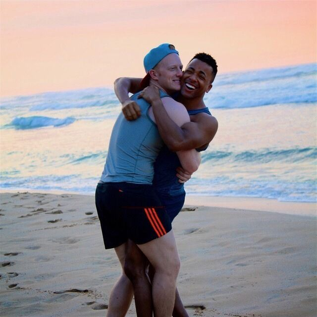 Happy six month anniversary today to Ryan and... | Intergaycial