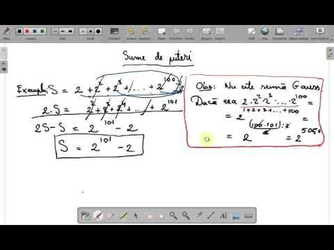 Sume de puteri  clasa a V a ( www.supermeditatii.ro) - YouTube