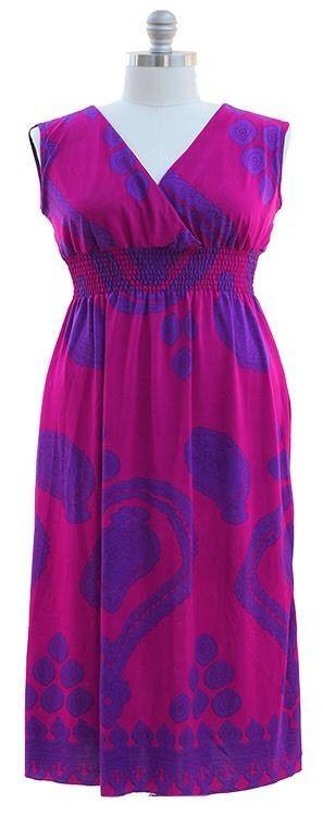 Sleeveless Maxi Dress Surplice Sheer Smocked Waist Sundress Womens 1X NWT  | eBay