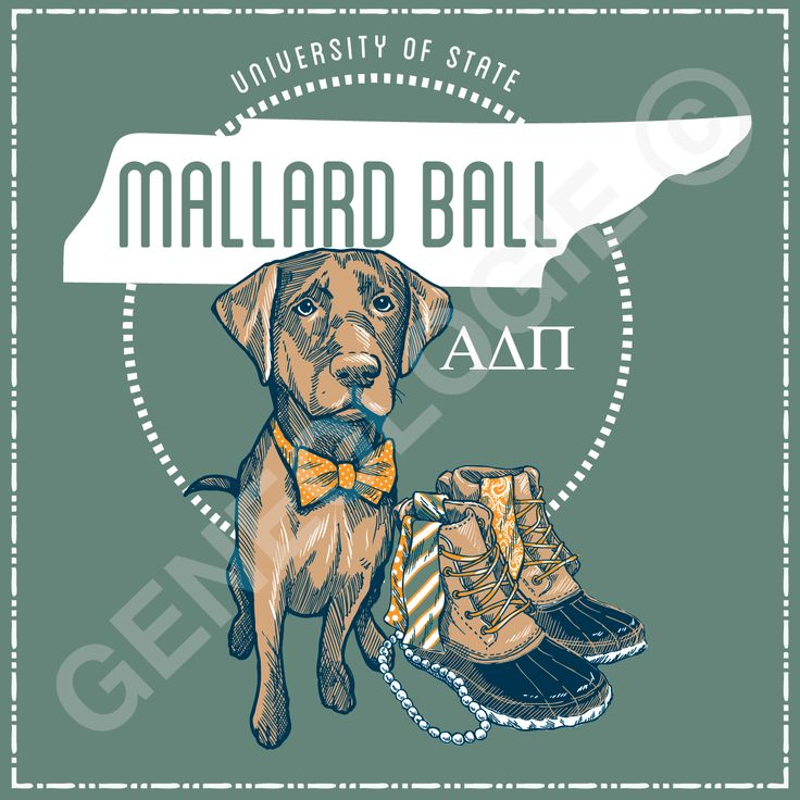 Geneologie | Greek Tee Shirts | Greek Tanks | Custom Apparel Design | Custom Greek Apparel | Sorority Tee Shirts | Sorority Tanks | Sorority Shirt Designs  | Sorority Shirt Ideas | Greek Life | Hand Drawn | Sorority | Sisterhood | Formal | Southern | Mallard Ball | ADPi | Alpha Delta Pi | Duck Boots | Hunting Dog | Tennessee
