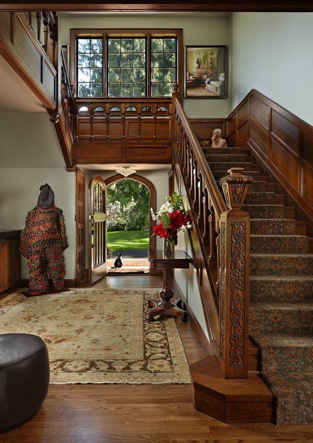 English Paneled Room: 83 Best Tudor Interiors Images On Pinterest