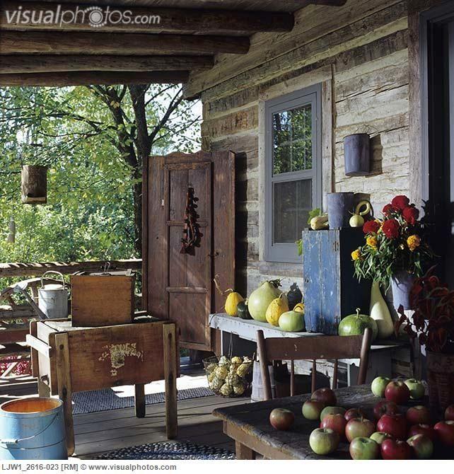 1000 Images About Primitive Porches On Pinterest