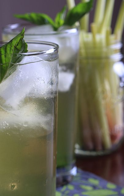 Basil and Lemongrass Tea by Jeff and Erin's pics, via Flickr