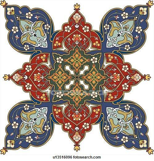 Arabesque Designs (page 6) - stock illustration clip art. Buy ro | 20 фотографий
