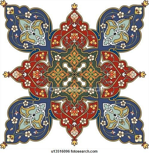 Arabesque Designs (page 6) - stock illustration clip art. Buy ro | 20 фотографий