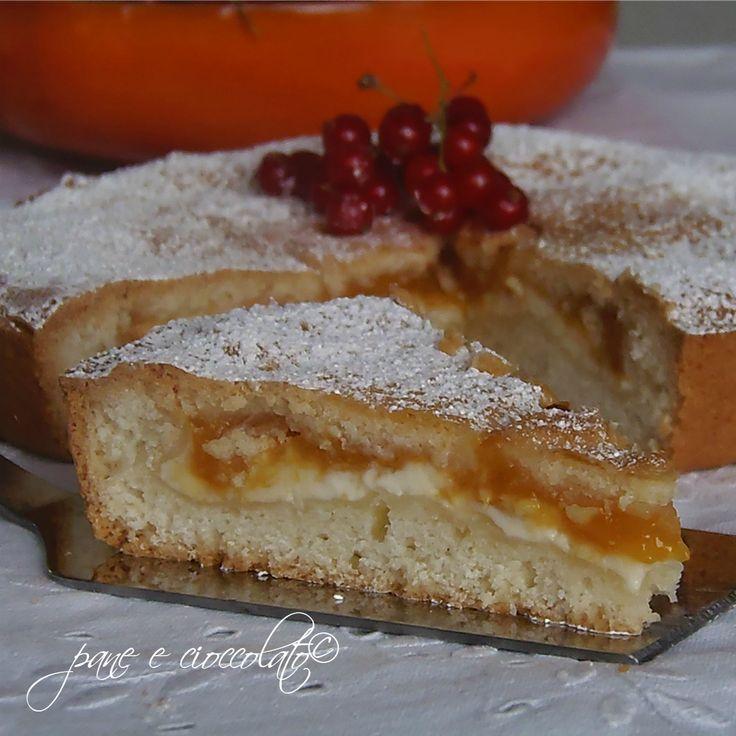 Torta Morbida albicocche e philadelphia