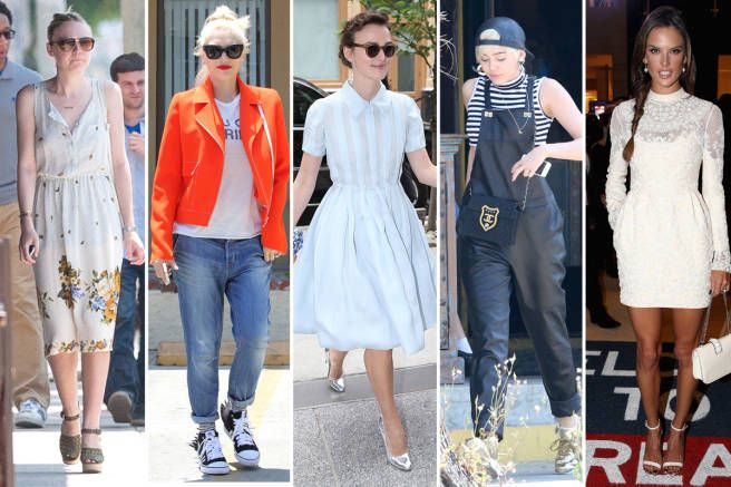 Best Dressed Celebrities - The Week in Outfits June 27 - Elle