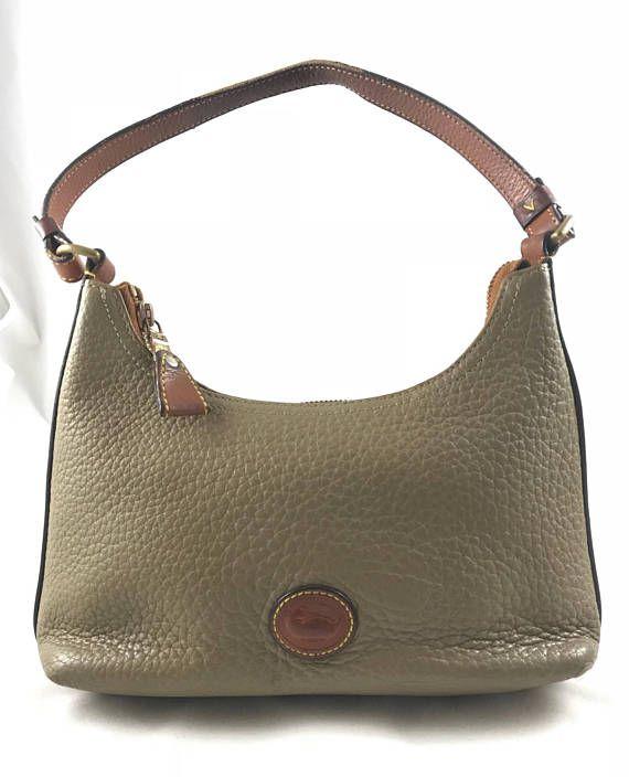 Vintage Dooney   Bourke Hobo Handbag  5e8e33b3ed951