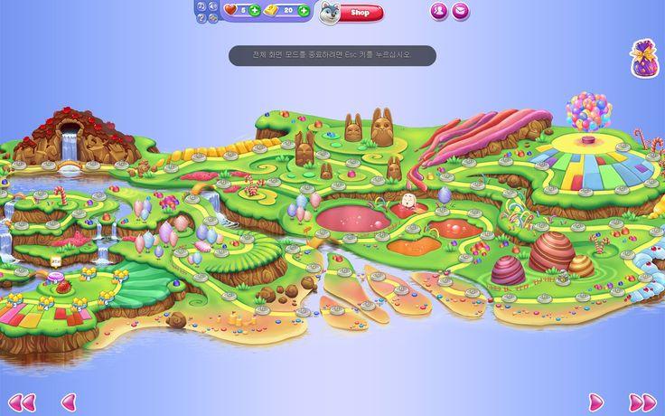 2015_facebook game_Wonderland_worldmap_1