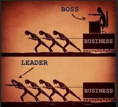 No Boss in what I do for a living just T.E.A.M. Together Everyone Achieves More  :)