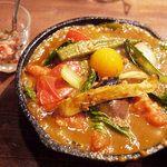 野菜を食べるカレーcamp - 料理写真: