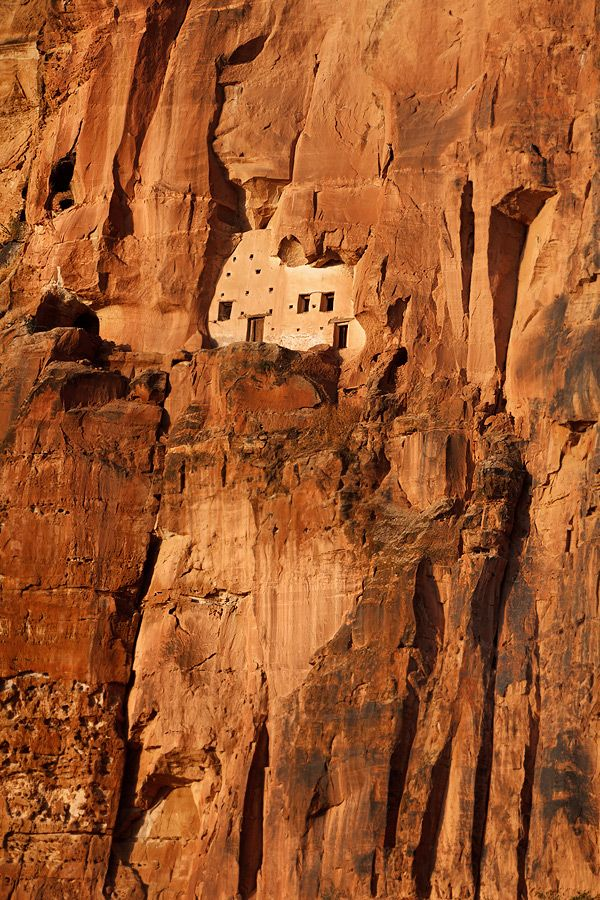 Rock church of Abba Yohani - Tigray, Ethiopia, 2012