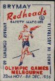 Torch Bearer - Australian Matchbox Labels