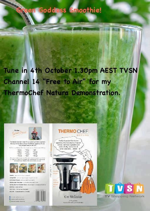 Tune into TVSN Digital Channel 14 on Free to Air TV (Yes they have moved from foxtel to free to air...to buy email melinda@4ingredients.com.au