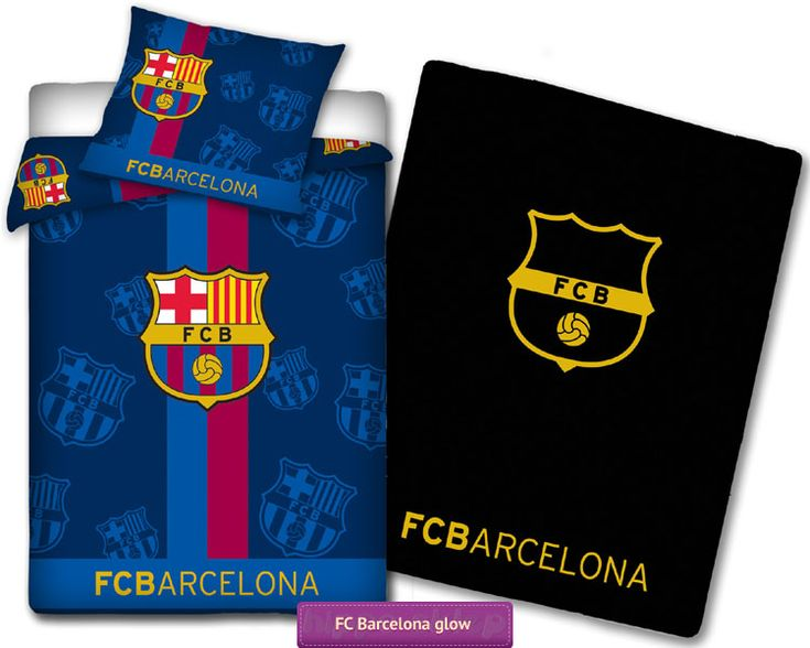 Bedding FC Barcelona glow in the dark bed linen. 47 best FC Barcelona bedding and Leo Messi collection   Po ciel FC