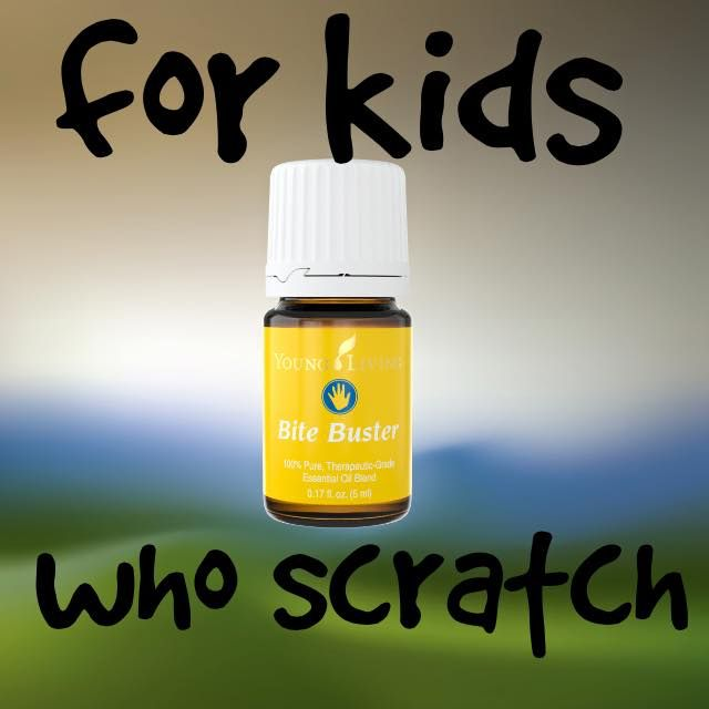 For kids who scratch. #essentialoils