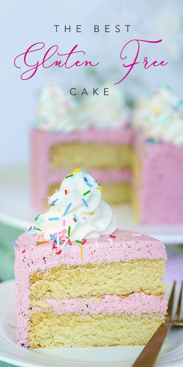Superb The Best Gluten Free Cake With Sugar Free Strawberry Frosting Funny Birthday Cards Online Inifofree Goldxyz