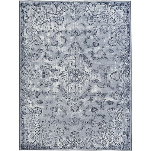 Saturn Austin Gray Runner: 2 Ft. 3-Inch x 7 Ft. 3-Inch - (In No Image Available)