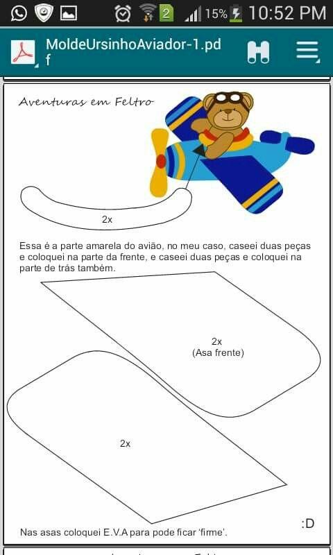 Airplane pattern