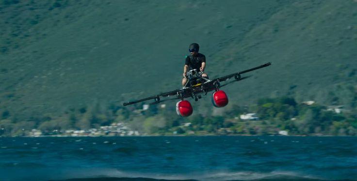 Kitty Hawk Flyer – An ultralight electric flying machine