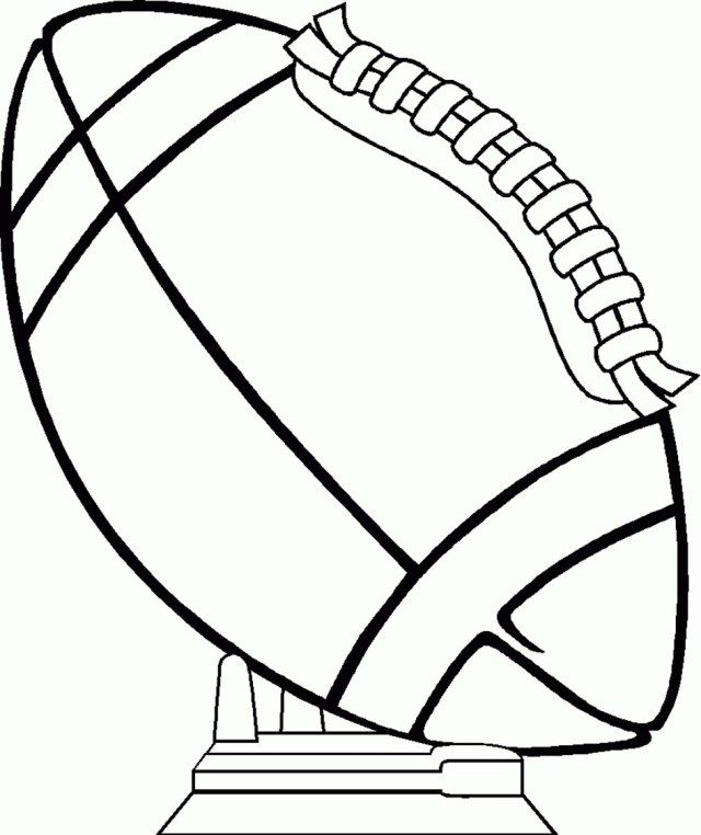 Best Picture Of Football Coloring Page Sports Coloring Pages