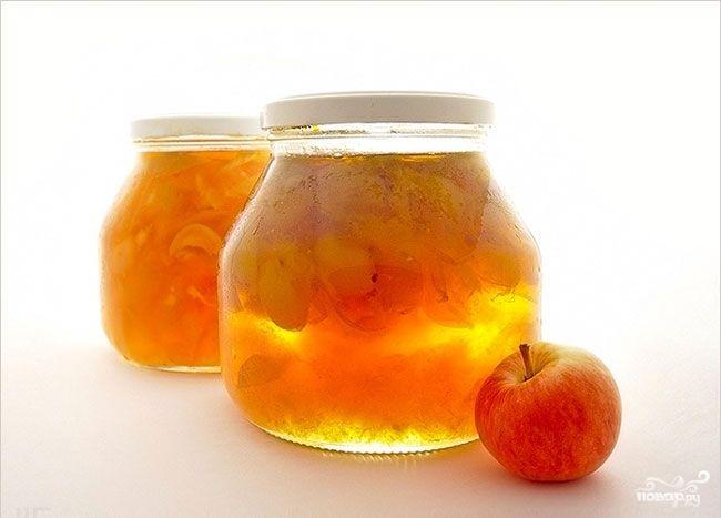 Яблочное варенье пятиминутка