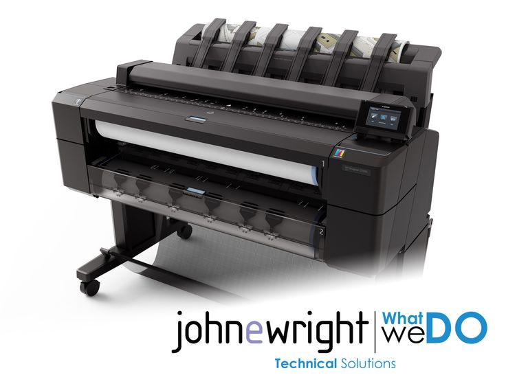 John E Wright Technical - Technical & Graphics Printers - HP Designjet T2500 eMFP
