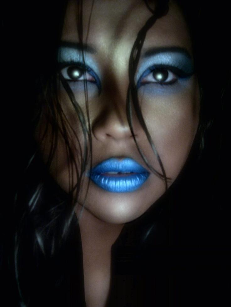 Blue Makeup: 96 Best True Blue Images On Pinterest