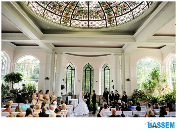 Casa Loma Wedding Ceremony ~  Toronto Wedding Photographer www.bassem.ca