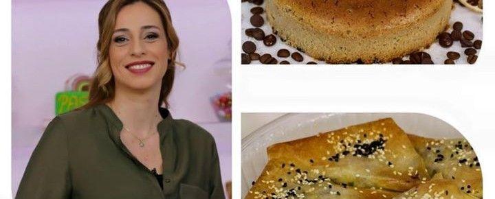 limonlu türk kahveli kek, baklava hamuruna patatesli börek