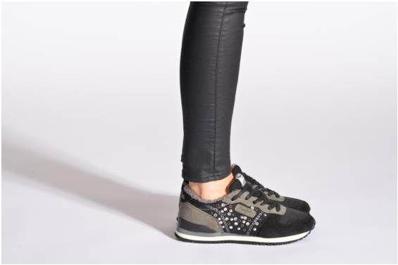 Baskets Gable Studs Pepe jeans vue portées chaussures