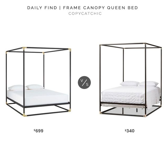 Daily Find Bed Queen Beds Black Canopy Beds