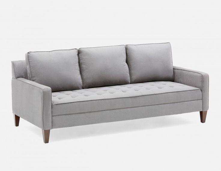AMALFI - 3-seater Sofa - Charcoal