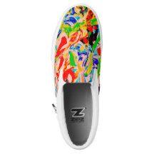 Summer flowers Slip-On sneakers