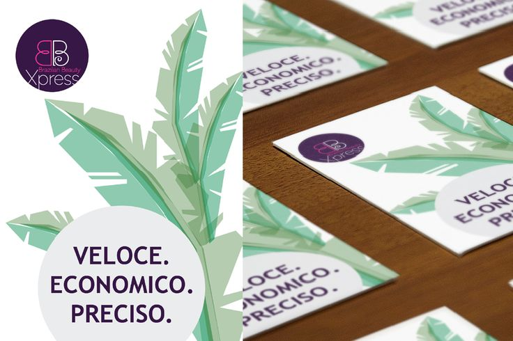archventil_atelier-del-corpo_bbxpress - Flyers for Atelier del Corpo designed as postcards and printed on thick paper tell the exotic emotion, focusing on the Brazilian origin of the service. Tropical green shades are combined with a wooden brown and with an elegant purple logo.