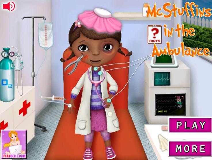 Juego: Ambulancia Doctora Juguetes  http://doctorajuguetesjuegos.com/ambulanciadoctorajuguetes.html
